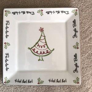 Beautiful Christmas serving platter!